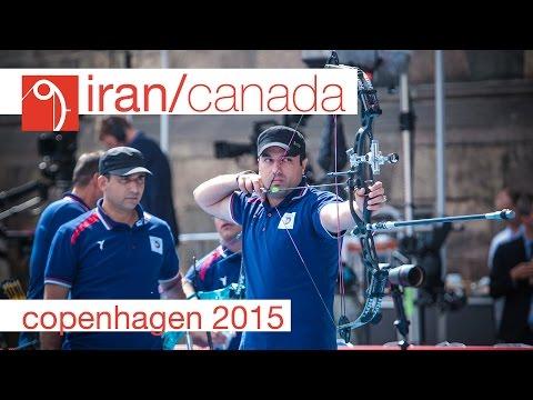 Iran v Canada – Compound Men's Team Gold Final | Copenhagen 2015