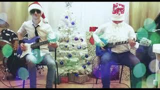 ПРИКЛЮЧЕНИЯ ЭЛЕКТРОНИКОВ - Песенка О Снежинке(instrumental Cover) Guitar cover