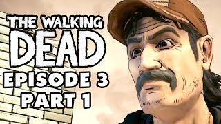 The Walking Dead Game - Episode 3, Part 1 - Long Road Ahead (Gameplay Walkthrough)