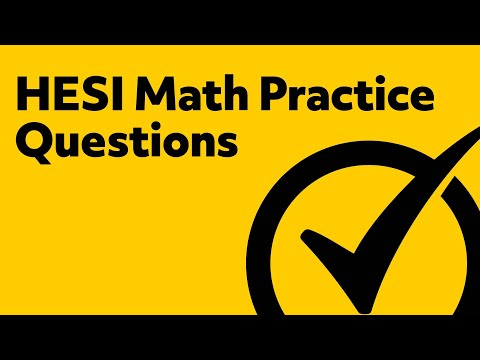 Free HESI Practice Test Math Review - 5 Practice Questions