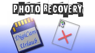 Photo Recovery mit Photorec (OpenSource)