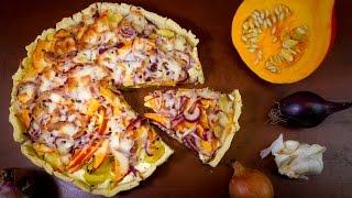Kürbis-Kartoffel-Tarte Rezept | Der Bio Koch #752