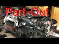 Dismantling the $800 Fiat 500 Abarth Parts Car!