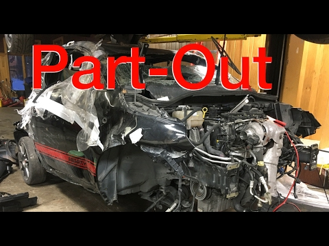 Dismantling the $800 Fiat 500 Abarth Parts Car! - YouTube
