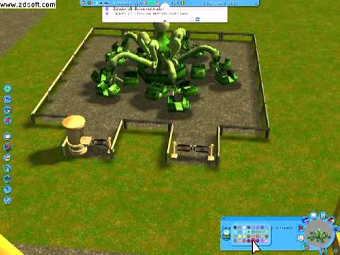 roller coaster tycoon 3 soaked wild gameplay portugues + Link de Download !