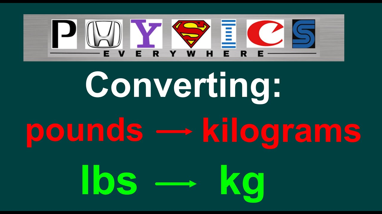 Easy How To Convert Lbs Kg