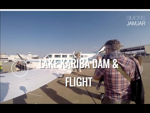 ZIMBABWE - LAKE KARIBA DAM & FLIGHT