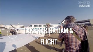 ZIMBABWE - LAKE KARIBA DAM & FLIGHT