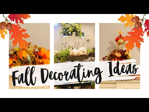 🍁FALL CLEAN AND DECORATE | FALL CLEAN AND DECORATE WITH ME 2019 | FALL DECORATING IDEAS🍁