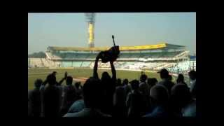 India vs England, Kolkata: Barmy Army celebrate victory