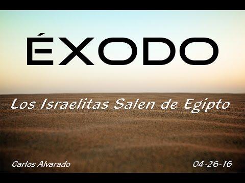 """Éxodo 12:29-51 """"Los Israelitas Salen De Egipto"""