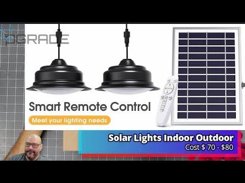 Solar Lights Indoor Outdoor