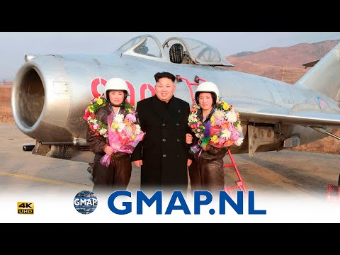 North Korea first ever Airshow at Wosan