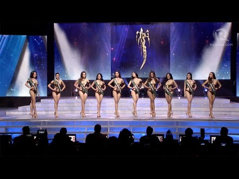 Miss Philippines Earth 2017: Swimsuit Competition