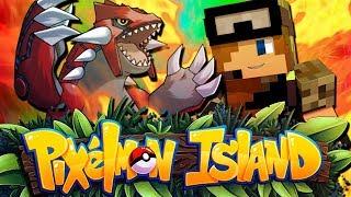 SHINY SHARPEDO TROLL!! - Pixelmon Island Season 2 Episode 21 (Minecraft Pokemon!)