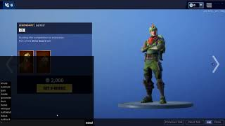 Redeem any Skin from The Item Shop For GRATUIT!!! Glitch Fortnite Battle Royale-2019