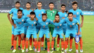 Indian U17 Boys' Skill against USA in FIFA World Cup