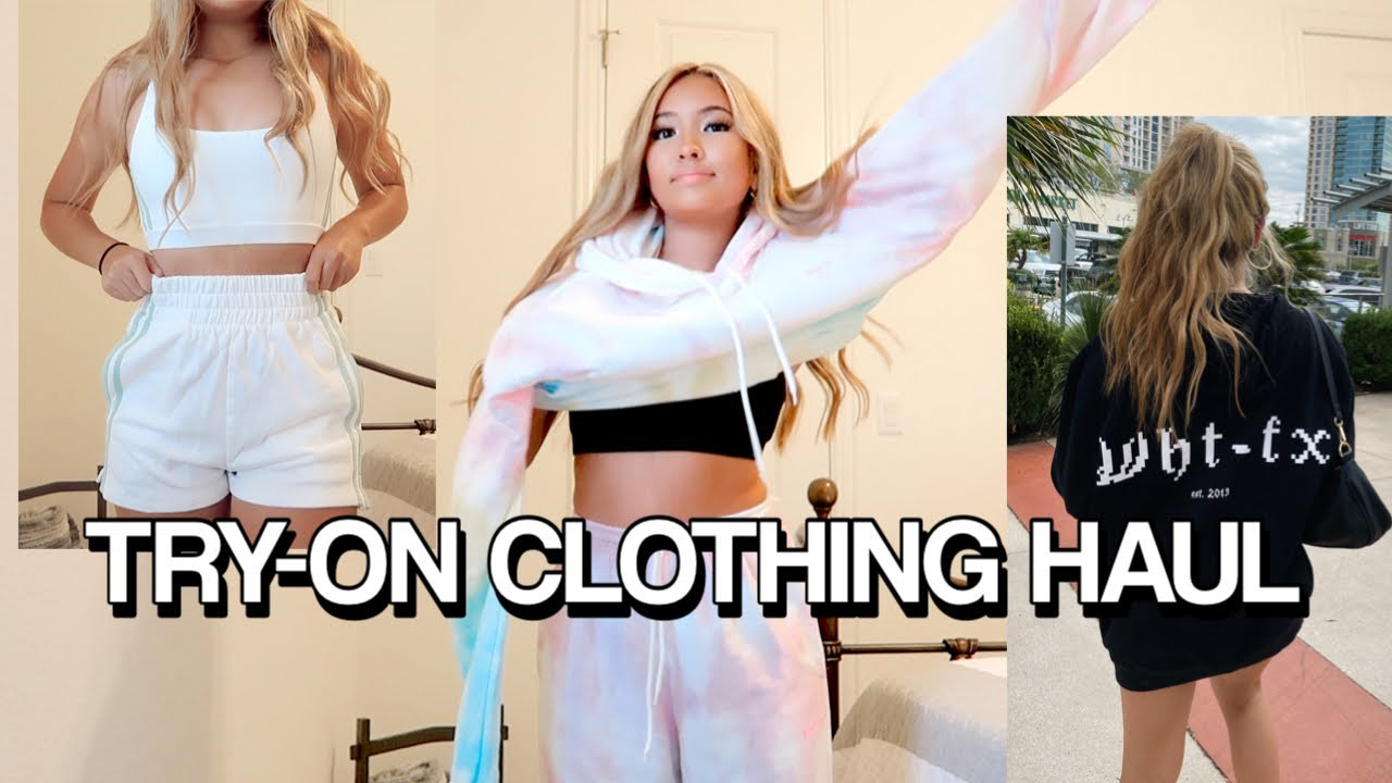 FALL TRY-ON CLOTHING HAUL | comfy & cute!