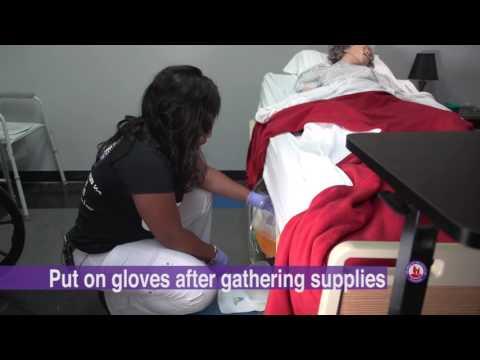 Skill 10 Emptying a Urinary Drainage bag
