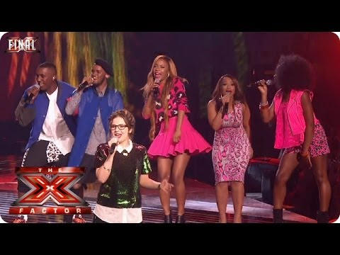 The Final 11 sing Roar by Katy Perry - Live  Final Week 10 - The X Factor 2013