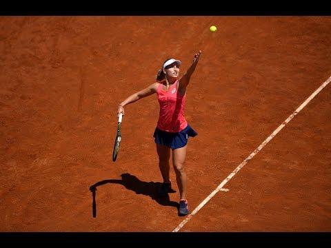 2017 Internazionali BNL d'Italia First Round | Daria Gavrilova vs Madison Keys | WTA Highlights