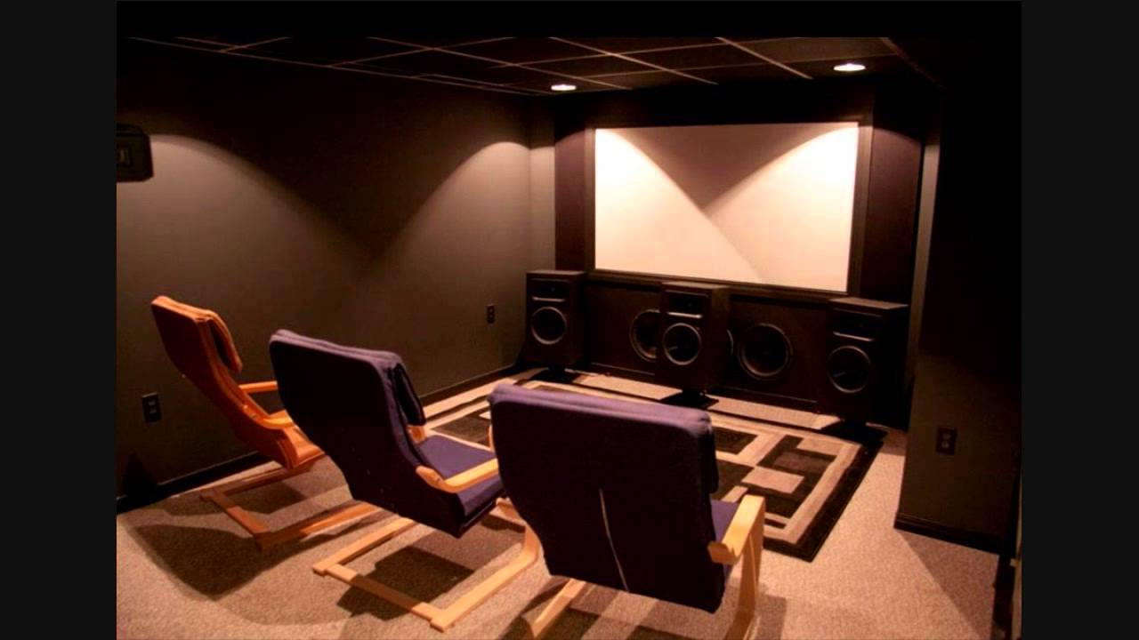 Home Theater build - YouTube