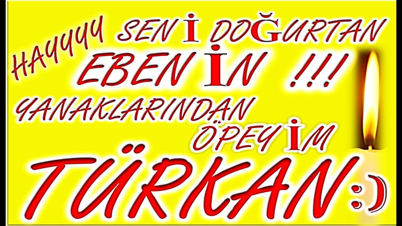 İyi ki Doğdun Türkan İsme Özel Komik Doğum Günü Şarkısı