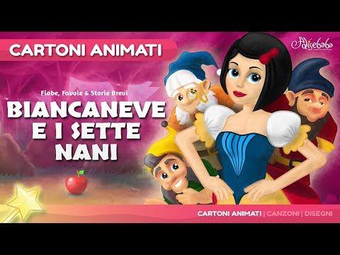 Biancaneve e i Sette Nani storie per bambini | cartoni animati Italiano | Storie della buonanotte