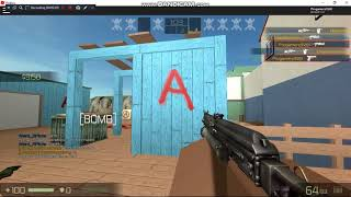 I GOT DOUBLE KILL WITH PP BISON (COUNTER BLOX ROBLOX OFFENSIVE)