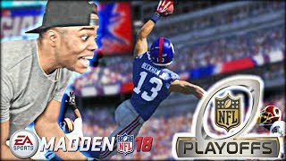 CRAZY PLAYOFF SHOOTOUT GAME! Calvin Johnson Exposed Him! | Madden 18 Ultimate Team Gameplay (MUT 18)