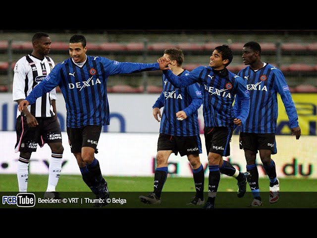 2008-2009 - Jupiler Pro League - 11. SC Charleroi - Club Brugge 2-2