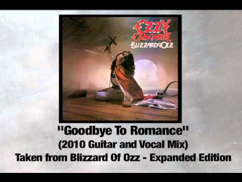 'Goodbye to Romance' 2010 Guitar & Vocal Mix