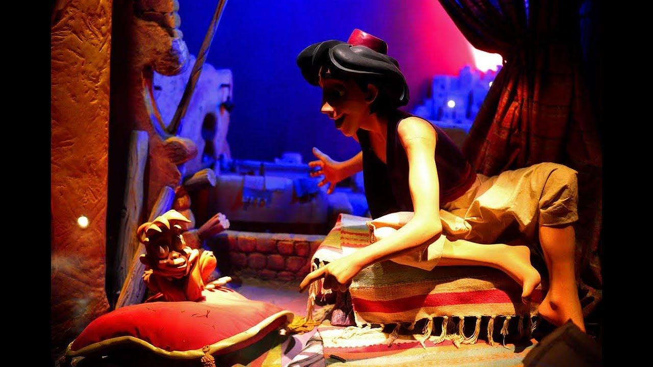 Disneyland paris le passage enchant d 39 aladdin aladdin 39 s - Le singe d aladdin ...
