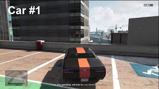 """GTA V - How to find all 3 Gauntlets (cars) for """"The Big Score"""" Mission!"""