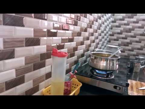 My morning kitchen routine / daily work in my kitchen / tension free daily routine in my kitchen