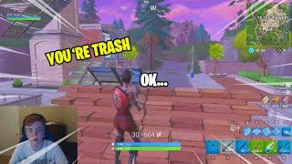 So i 1v1'ed my trash talking brother in Fortnite...AND THIS HAPPENED! #77isSus