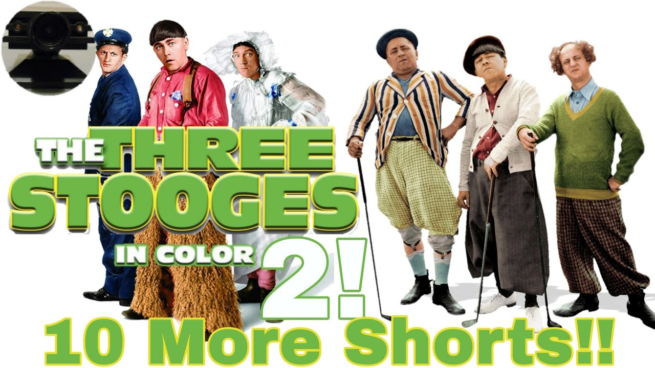 Download MORE Three Stooges In COLOR!!!! 10 More Three Stooges Shorts In Full Color!