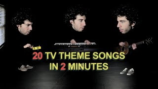 20 TV Theme Songs in 2 minutes
