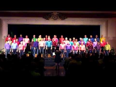 Space Oddity sung by LOW REZ Male Choir,...