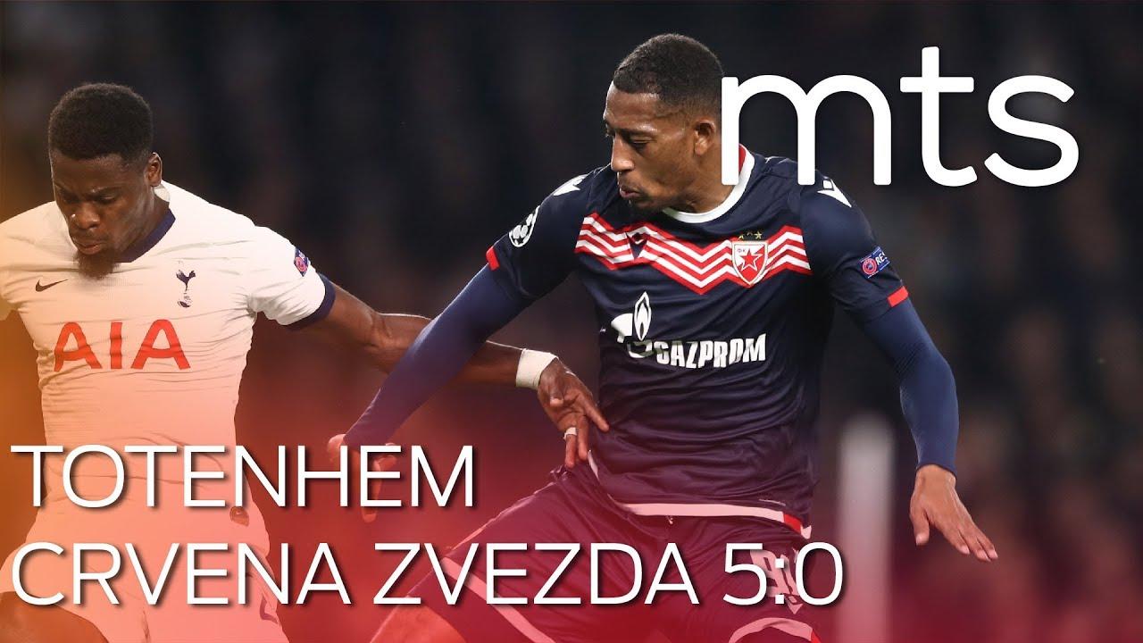 Tottenham Hotspur Fk Crvena Zvezda 50 Uefa Champions League Sezona 201920