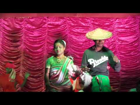 Bad bayhar kami somoy, Stage performance New Santali video 2018 by Santal Rusika