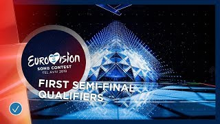 RECAP: All qualifiers of the first Semi-Final of the 2019 Eurovision Song Contest