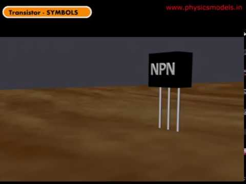 Transistors And Their Symbols Npn And Pnp Youtube