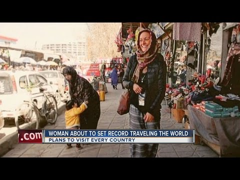 Connecticut resident trying to become the youngest woman to visit every country in the world