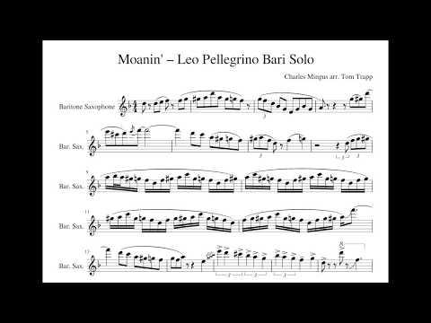 Leo Pellegrino's insane Moanin' solo, 2017 BBC Proms
