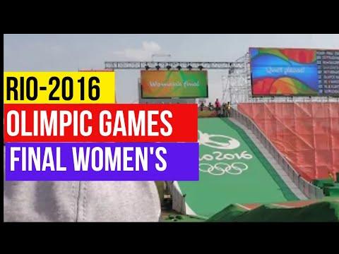 Women's BMX Cycling: Final Rio-2016 , Olympic Games 2016 -  Rio de Janeiro, Brasil