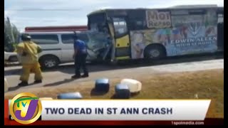 TVJ News Today: Two Dead in St Ann Crash -  July 13 2019