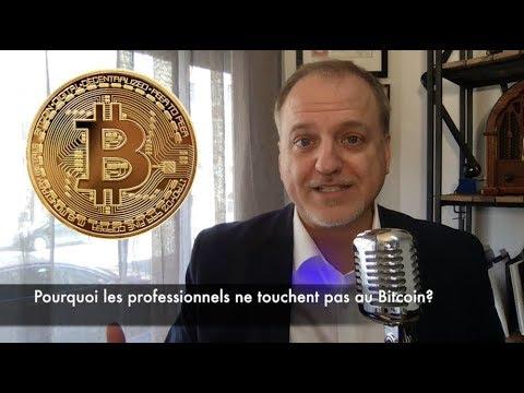 Pourquoi les professionnels boudent le Bitcoin?