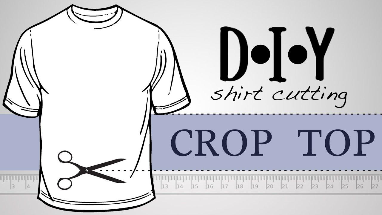 5583731d7b0cdc InksterPrints - DIY Crop Top Gym Tee - YouTube