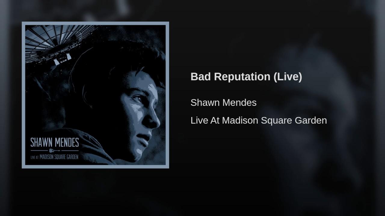 Bad Reputation Live Youtube